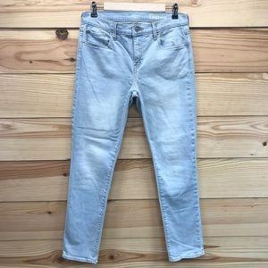 Gap Jeans 8 29 Girlfriend Crystal Water Light Wash